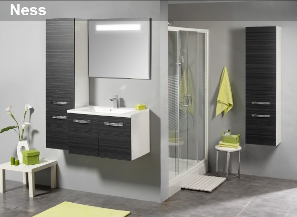 Allibert for Meuble salle de bain allibert