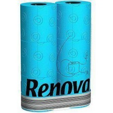 Renova blauw toiletpapier  6 stuks per pak