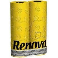 Renova geel toiletpapier  6 stuks per pak
