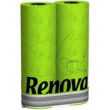 Renova groen toiletpapier  6 stuks per pak