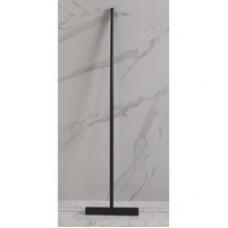 Woodynox luca vloerwisser mat zwart 32x125cm
