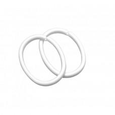 Sealskin Clips ring wit 12 stuks - 252060210