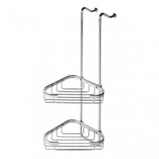 Geesa Basket dubbele hoekkorf chroom rechts - 91254