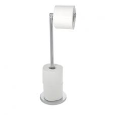 Wenko toilet- en reserverolhouder Rvs staand 22985100