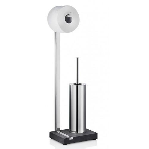 blomus menoto toiletbutler gepolijst rvs 68820. Black Bedroom Furniture Sets. Home Design Ideas