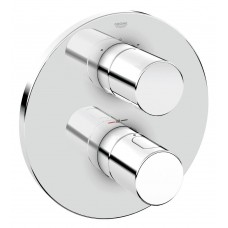 Grohe Grohtherm 3000 chroom afdekrozet - 19468000