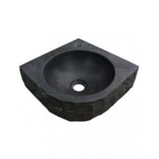 Wiesbaden B-stone hamerslag hoekfontein Antraciet 30 x 30 cm