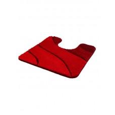 Kleine Wolke Wave toiletmat Robijnrood - 5507453129