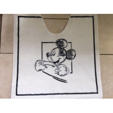 Aquanova Hey Mickey toiletmat 60 x 50 - HEYBMW10
