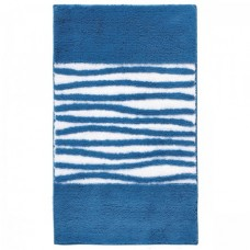 Aquanova Morgan badmat denim blauw 60 x 100 - MORBMM75
