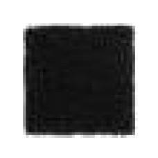 Aquanova Shaggy  zwart badmat 60 x 100 cm. - SHABMM-09