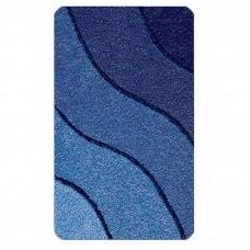 Kleine Wolke Wave badmat Marineblauw 60 x 90 cm.