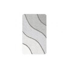 Kleine Wolke Wave badmat Oestergrijs 55 x 65 cm.