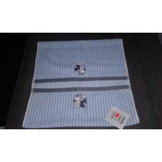 Aquanova Fun Mickey handdoek  50 x 100 cm. blauw/wit