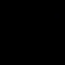 Aquanova London handdoek zwart 55 x 100 - LONTWS09